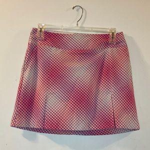 Nike Dri-FIT Golf Skort/Skirt Pink sz 10